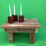 Nino Table and Candle Holders